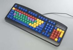 Typing Learning Black Keyboard