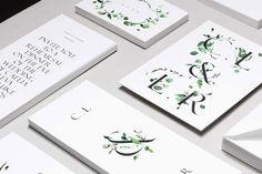 LOVE this typeface - beautiful wedding stationary + invites from Lisa Hedge at Venamour