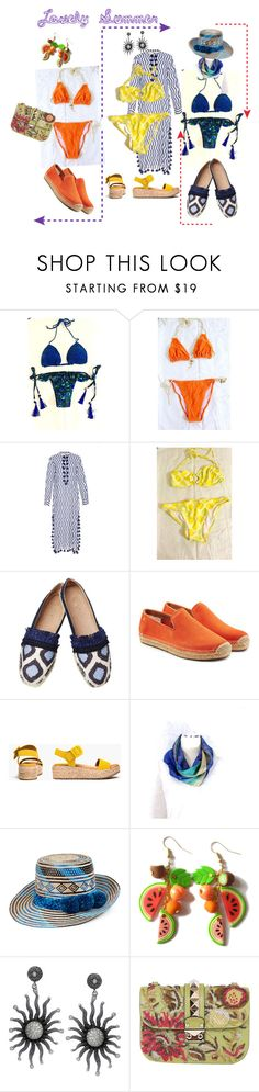 """""""Lovely Summer"""" by oanaf ❤ liked on Polyvore featuring Victoria's Secret, Benetton, Figue, Kakao By K, UGG, Kenneth Cole Reaction, YOSUZI and Valentino"""