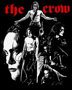 I did this about a year ago as an homage to Brandon Lee in THE CROW. This film made a very big impression on me and probably kick started the machinery . THE CROW Brandon Lee, Bruce Lee, Crow Costume, Dark Romance, Crow Movie, Crow Mask, Fantasy Anime, Dark Fantasy, Movie Decor