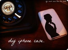 diy iphone case using acrylic paints. Change it up however you want!
