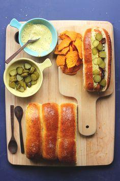 Danish Style Hot Dogs {street food monday} | The Sugar Hit