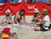 Tate St Ives's summer programme of events is in full swing with activities taking place in the Barbara Hepworth Museum and Sculpture Garden, Porthmeor studios and on the beach. With the arrival of the school holidays, there's plenty of fun family activities that visitors and residents can join in with. Their new free I Spy trail through St Ives gives even more reasons to enjoy art in the sunshine. Visit the website and sign up to an activity today. Happy holidays! #EYgofree #EYTate #Cornwall