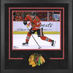68bc7ad0639 Patrick Kane Chicago Blackhawks Deluxe Framed Autographed 16