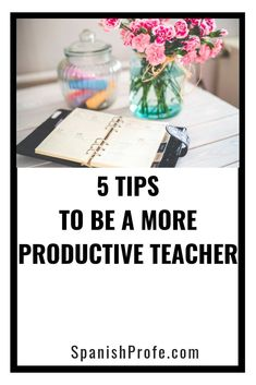 Tips and ideas on how to avoid teacher overwhelm on this episode of the Bilingual Profe Podcast. Quick ideas you can use in your schedule to feel less stressed and more organized in your Spanish immersion elementary classroom.