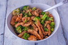 Chicken and Broccoli Skillet Stir-Fry In a large skillet heat about tablespoons sesame oil over medium-high heat. Add in broccoli f. Asian Recipes, Healthy Recipes, Ethnic Recipes, Chinese Recipes, Asian Foods, Sweets Recipes, Stir Fry Recipes, Cooking Recipes, Great Recipes