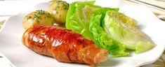 Her får du tips til hvordan du går fram - Kålruletter på to måter og med nykål Poultry, Baked Potato, Pork, Potatoes, Meat, Chicken, Baking, Ethnic Recipes, Tips