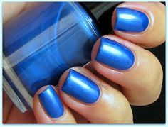 Boombastic Nails: China Glaze Man Hunt & Lac Attack Blue Steel