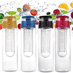 Creative Port Water Bottle Fruit Infuing Infuer Health Fruit Lemon Juice Make Bottle Home Travel Outdoor Water Bottle Red