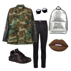 """""""Shcool day,"""" by erikafernandezz ❤ liked on Polyvore featuring J Brand, Forte Couture, NIKE, 3.1 Phillip Lim and Lime Crime"""