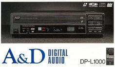 A&D DP-L1000 (1987) www.1001hifi.com Digital Audio, Audio Equipment, Brochures, Decks, Tape, Nostalgia, Phone, Vintage, Telephone