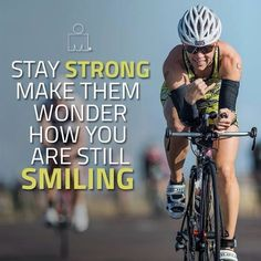 The IRONMAN Official Site for IRONMAN triathlon & Iron Girl and IRONKIDS triathlon races. View results, course descriptions, training articles, and live coverage of our iconic events and register to become an IRONMAN today. Ironman Triathlon Motivation, Cycling Motivation, Triathlon Women, Triathlon 2016, Bike Quotes, Cycling Quotes, Spin Quotes, Cycling Memes, Road Cycling