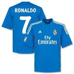 33a2d807f88c4 Camiseta del Real Madrid 2013-2014 Visitante + Ronaldo 7 (Estilo Fan)  Ronaldo