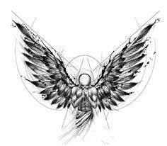 Bild Tattoos, New Tattoos, Tattoos For Guys, Celtic Tattoos, Chest Piece Tattoos, Chest Tattoo, Arm Band Tattoo, Tattoo Design Drawings, Tattoo Sketches
