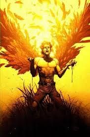 Figura 54 - Icarus, Marvel's X-Men Icarus Wings, Icarus Tattoo, Daedalus And Icarus, Male Angels, How To Attract Customers, Angel Art, Marvel Characters, X Men, Tattoos For Guys
