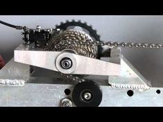 VeloTilt sliding derailleur 2 - YouTube