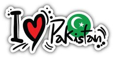 I Love Pakistan Slogan Car Bumper Sticker Decal Happy Independence Day Pakistan, Independence Day Status, Independence Day Pictures, Pakistan Flag Hd, History Of Pakistan, Pakistan Zindabad, Love You Cute, My Love, Good Morning Dear Friend