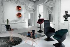 Top 5 #iSaloni. El diseño vuelve a brillar en Milán; los tonos metálicos regresan.