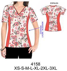 Delantales Office Uniform For Women, Scrubs Pattern, Scrubs Uniform, Blouse Batik, Sewing Pants, Old T Shirts, Dress Sewing Patterns, Diy Clothing, Holiday Outfits