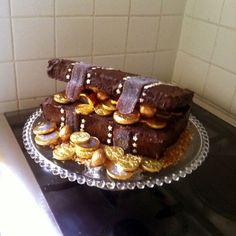 Gâteau coffre au trésor - Carnets d'une marraine.