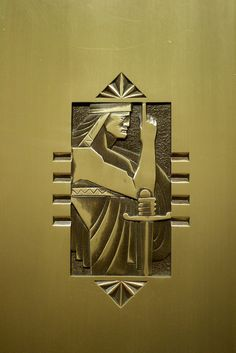 Buffalo City Hall, Elevator Door Detail