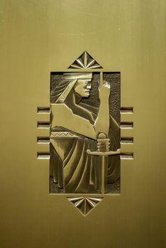 Buffalo City Hall, Elevator Door Detail