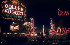Vegas neon (1955) by Loomis Dean.