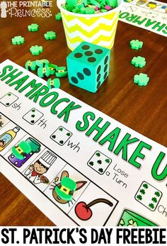 Do your students love partner games? Check out this festive freebie to practice digraphs! Perfect for St. Patricks Day in Kindergarten!
