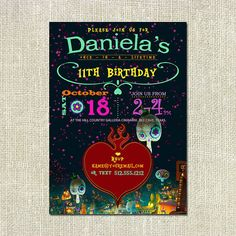 7 best day of the dead book of life invitation party set images on book of life movie themed birthday party invitation stopboris Images