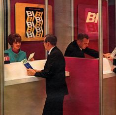 Braniff Airlines check-in