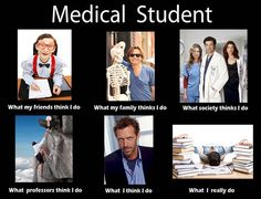 To become a doctor you have to spend four years of your life in medical studies.Then you realize that you are a doctor.These Work Memes medicals are related to doctor life. Medical Student Humor, Medical Jokes, Student Memes, School Memes, Medical Students, Medical School, Nursing Students, Nursing Schools, School Tips