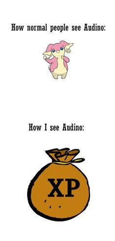 I Love Audino, Because of Reasons!