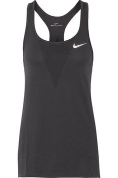 Nike - Zonal Relay Dri-fit Mesh Tank - Anthracite - x large