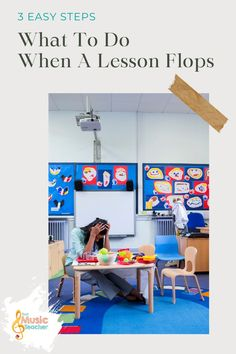 We've all been there: you spend an hour on a lesson and are so excited to finally get to share it with your students. You prepare all of the manipulatives and resources and jump right in with your students. Then the worst happens: the lesson completely flops. Here are 3 easy steps on what you can do! Having your lesson flop is seriously one of the most frustrating experiences you can have as a music teacher. #Music #Teacher #Lesson #Regroup #Education #Elementary Education Major, Music Education, Student Teacher, Teacher Hacks, Find Music, Music Teachers, Elementary Music, Teacher Resources, Improve Yourself