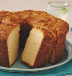 This classic, one-bowl pound cake recipe preps in a hurry and tastes delicious especially when topped with a sprinkle of powdered sugar.
