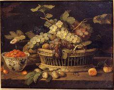 Jan van Kessel - Natura morta con frutta - 1655-1675 - Accademia Carrara di Bergamo Pinacoteca