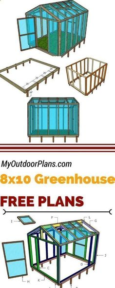 Aquaponics System - Check out my free 8x10 wood greenhouse plans, if you want to grow healthy vegetables in your own garden. Learn how to build a small greenhouse at myoutdoorplans.com #diy #greenhouse Break-Through Organic Gardening Secret Grows You Up To 10 Times The Plants, In Half The Time, With Healthier Plants, While the Fish Do All the Work... And Yet... Your Plants Grow Abundantly, Taste Amazing, and Are Extremely Healthy #Howtogrowvegetablesinyourowngarden #greenhousegardening