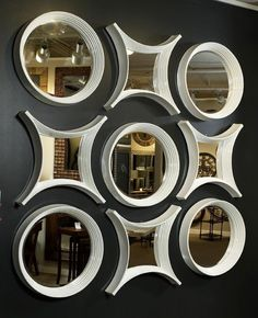 modern decorative wall mirrors designs ideas for living room decoration 2019 Spiegel Design, Wall Decor, Room Decor, Mirror Art, Wall Mirrors, Ceiling Design, Door Design, Living Room Designs, Valances