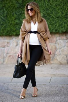 Winter prego style - great maternity fashion