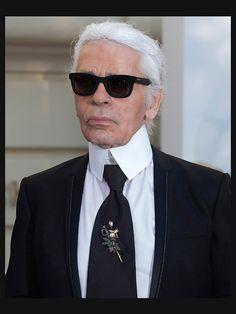 mood board # Karl Lagerfeld