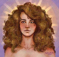 Hermione in light by upthehill