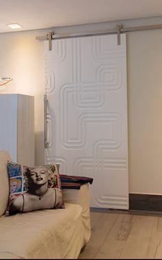Mentha Painéis Decorativos | Portas - roldana aparente