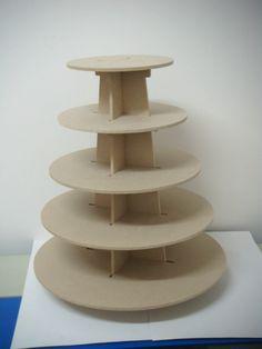 Base Quequitos 5 pisos circular