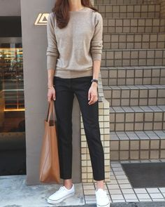 50 Street Wear Casual Chic Outfits Trending Ideas streetwear is an essential supply of inspiration and almost always a good way to modernise your wardrobe. Casual Chic Outfits, Office Outfits, Mode Outfits, Work Casual, Fall Outfits, Fashion Outfits, Comfy Work Outfit, Fashion 2017, Street Fashion