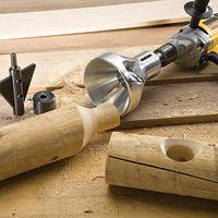 Log tenon cutter!!!