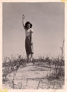 Woman on the dunes | Flickr - Photo Sharing!