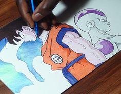 "Check out new work on my @Behance portfolio: ""Goku vs Frieza Ballpoint Pen Drawing"" http://be.net/gallery/33424051/Goku-vs-Frieza-Ballpoint-Pen-Drawing"