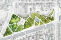 Interesting plan | Diller Scofidio + Renfro: Aberdeen City Garden