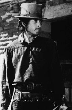 "December 18th, 1972, Bob Dylan Began Filming, As The Enigmatic,""Alias"", In Sam Peckinpah's Film ""Pat Garrett And Billy The Kid"", Durango, Mexico."