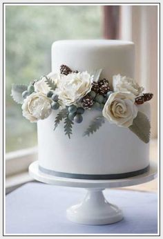 Wedding Ideas, Winter Wedding Cake: winter weddings ideas